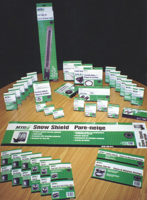 MTD Parts Program Packaging