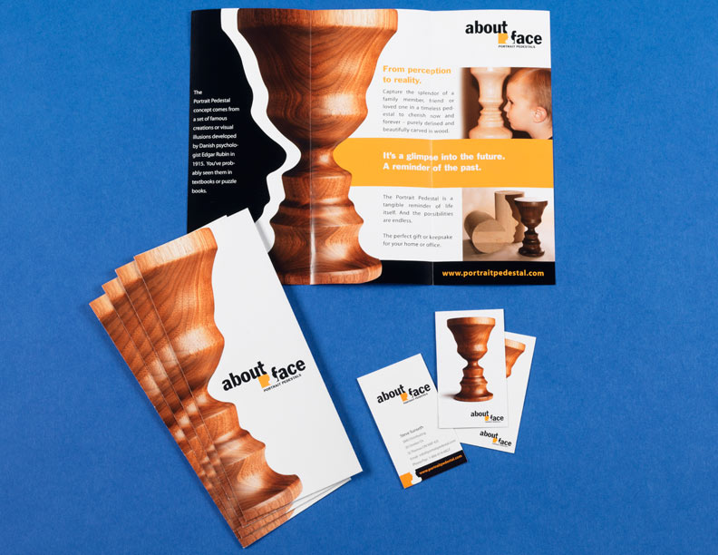 About Face Brochure & Business Cards