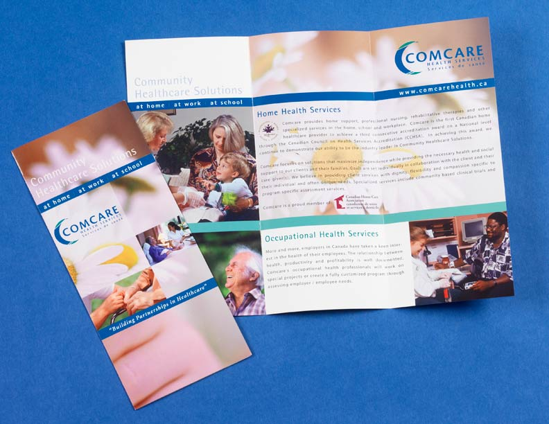 Comcare Health Literature