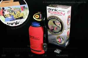 Drink Caddy Driver Package Carton Design