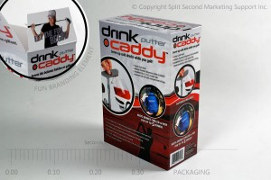 Drink Caddy Putter Package Design
